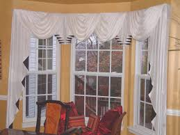 dining room best window treatments for bay windows in dining