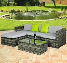 Rattan Table L Rattan Garden Furniture Ebay Rattan Garden Furniture The Garden