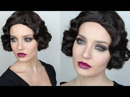 do it yourself hairstyles gatsby you tube vintage inspired great gatsby makeup youtube love the eyes