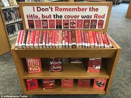 books with light in the title library trolls patrons by organizing books by color daily mail online