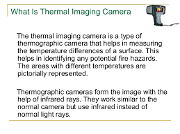 how do infrared heat ls work what is a thermal imaging camera