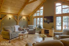 golden eagle log homes log home cabin pictures photos custom great room