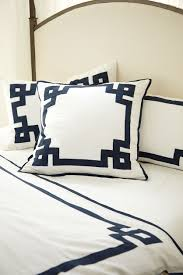 suzanne kasler s summer 2014 collection how to decorate greek key bedding designed by suzanne kasler for ballard designs