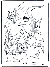 2 nemo coloring pages