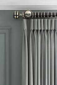 Silver And Blue Curtains 38 Best Rooms Images On Pinterest Curtains Live And Grey Linen
