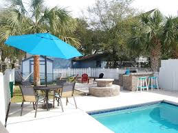 heated pool tub and firepit all homeaway surfside beach