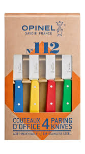box of 4 knives n 112 classic colours opinel com