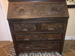 Oriental Secretary Desk by Best Antique Secretary Desk Oriental For Sale In Fort Bragg North