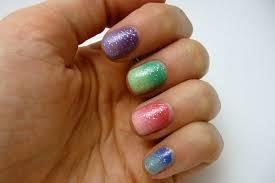 casa de polish springtime gradient nails