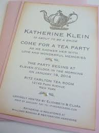 bridal shower tea party invitations best 25 bridal tea invitations ideas on tea party