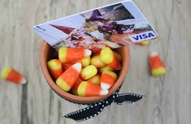 halloween gift card idea is as sweet as candy corn gcg