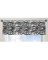 Zebra Valance Curtains Zebra Valances Deals U0026 Sales At Shop Better Homes U0026 Gardens