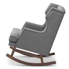 Mid Century Modern Rocking Chair Amazon Com Baxton Studio Iona Mid Century Retro Modern Fabric