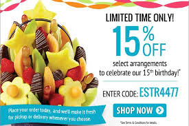 edibles coupons coupons for edible arrangements promotional codes 2015