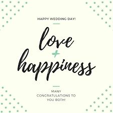 happy wedding day happy wedding day gift card hart ldn
