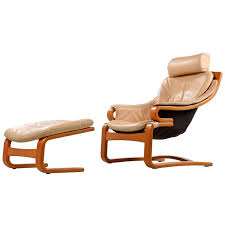 Danish Modern Armchair Danish Modern Skipper Mobler Teak And Leather Armchair With