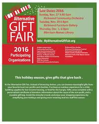 alternative gift fair cope environmental center centerville