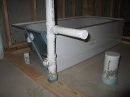 basement bathroom plumbing rough in click image for larger