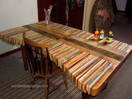 How To Make A Table Out Of Pallets Creative Pallets Table Pallet Projects Pallets And Rustic