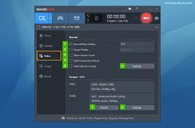 membuat video streaming dengan xp bandicam configuration video best recording software game