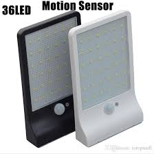 Motion Detector Light Outdoor by Discount Newest 450lm 36 Led Solar Power Street Light Pir Motion