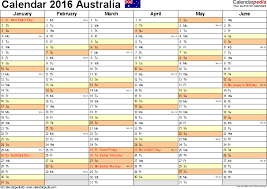 free printable planner 2016 australia australia calendar 2016 free printable excel templates