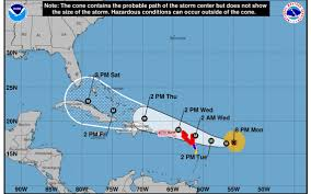 Mexico Hurricane Map by Hurricane Irma Now A Category 4 State Of Emergency Declared