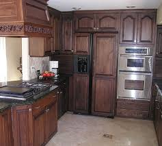 Staining Kitchen Cabinets Useful Tips The Kitchen Blog - Easiest way to refinish kitchen cabinets