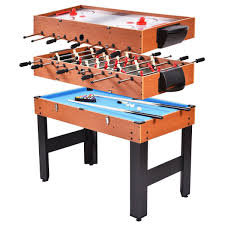 3 in one foosball table amazon com new 48 3 in 1 multi combo game table foosball soccer