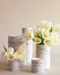 small square vases 23 diy wedding centerpieces we love martha stewart weddings