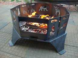 Personalized Fire Pit by Midway Iron Fire Rings