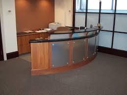 Industrial Reception Desk by Office Table Diy Modern Reception Desk Modern Industrial