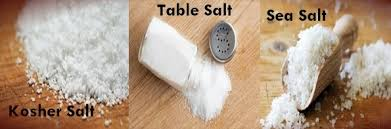 sea salt and table salt kosher salt vs table salt ideas the latest information home