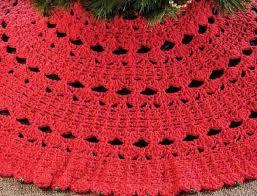 tree skirt pattern crochet rainforest islands ferry