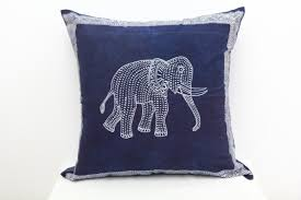 decor aztec elephant pillow in white for home accessories ideas