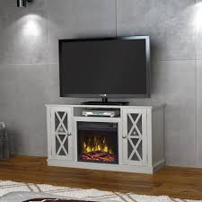 classic flame bayport 55 in media console electric fireplace in