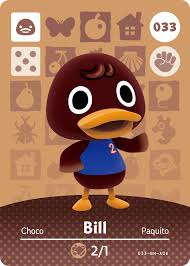 bill animal crossing wiki fandom powered by wikia