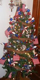 patriotic tree 4th of july and memorial day celebration