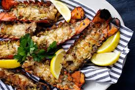 best backyard bbq recipes grilled lobster tails with zesty butter