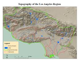 Los Angeles Area Map by State Water Resources Control Board Los Angeles