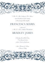 Example Of Wedding Invitation Cards Free Wedding Invitation Templates Dhavalthakur Com