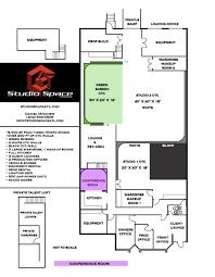Conference Room Floor Plan Conference Room Studio Space Atlanta