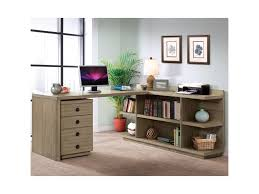 L Shaped Desk With Drawers Riverside Furniture Perspectives L Shape Desk With Peninsula