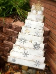 christmas tree pallet pallet christmas tree small wood whatnot
