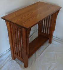 Woodworking Plans Bedside Table Free by Mission Style Bedside Table Els Homes