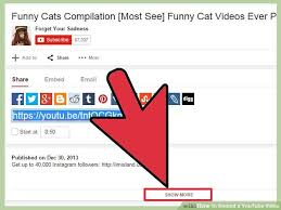 how to embed a youtube video 13 steps with pictures wikihow