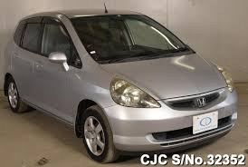 japanese used cars honda fit 2003 honda fit jazz silver for sale stock no 32352 japanese