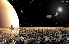 rings around saturn images Kagaya space closer look at the ring jpg