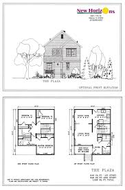 Home Floor Plans Two Master Suites by 1st Floor House Design Story Plans Small Two Narrow Lot Ranch