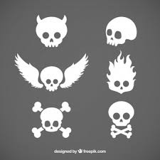 skull wings vectors photos and psd files free